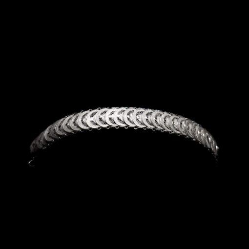 "Handmade Bracelet ""Infinity"" Filigree Silver Jewelry from Cyprus"