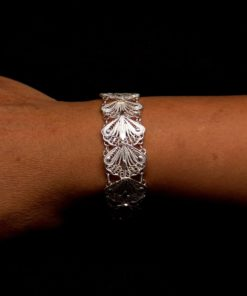 "Handmade Set ""Indie"" Filigree Silver Jewelry from Cyprus"