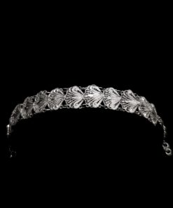 "Handmade Bracelet ""Indie"" Filigree Silver Jewelry from Cyprus"