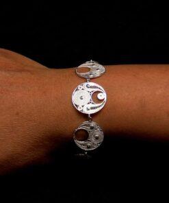 "Handmade Bracelet ""Precious"" Filigree Silver Jewelry from Cyprus"