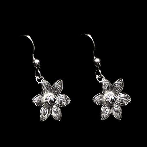 "Handmade Earrings ""Margarita"" Filigree Silver Jewelry from Cyprus"