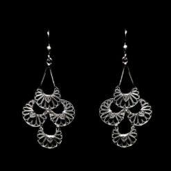 "Handmade Earrings ""Artisan"" Filigree Silver Jewelry from Cyprus"