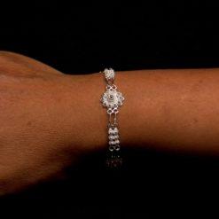 "Handmade Set ""Unity"" Filigree Silver Jewelry from Cyprus"