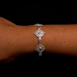 "Handmade Set ""Balance"" Filigree Silver Jewelry from Cyprus"